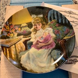 Hush Little Baby Collection Plate With Papers